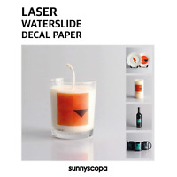 Sunnyscopa Premium Laser Waterslide Decal Transfer Paper Permanent L1013/14