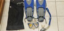 U.S. Divers Adult Snorkeling Set with Fins, Mask, Snorkel, and Bag