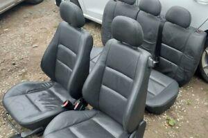 VAUXHALL CORSA C LEATHER INTERIOR SEATS 3 DOOR