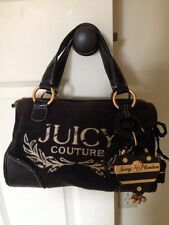 Pre-owned Juicy Couture Black Purse with Gold hardware
