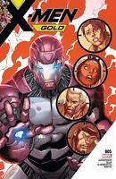 X-Men Gold  #5 Marvel Comics NM 1st Print 2017 ships t-folder