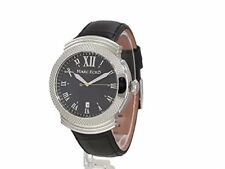 Marc Ecko Men's M09502G2 The Madeira Classic Analog Watch BLACK LEATHER BAND