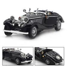 Vintage 1:28 Mercedes-Benz 500K Alloy Diecast Car Model Toy Vehicle Kids Gift