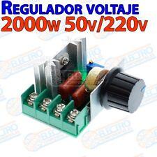 Regulador de Voltaje ajustable 50v 220v 2000w - Arduino Electronica DIY