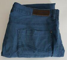 Lee Low Bruce Mens Slim Stretch Jeans W36 L34 Blue 36x34 36L Waist 36 Leg 34