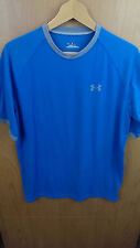 Under Armour Heat Gear Men's Medium Tshirt Blue