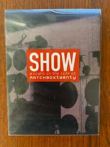 Show A Night In The Life Of Matchboxtwenty DVD Region All DISC'S LIKE NEW