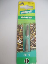 Wolfcraft ISO-TEMP 2 Bits Philips PH 1 1451 000  1451 000  (CO5)