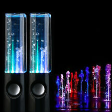 Valentine's Day Black Dancing Music Fountain Light Speakers for PC Laptop Phone