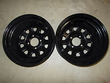 (2) Rims Steel Wheel REAR Polaris Xplorer 500 4X4 Magnum Diesel / Big Boss 6X6