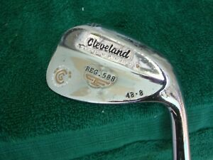"Cleveland Reg. 588 Precision Forged 48* Steel Wedge Flex 48-8 ""VERY GOOD"""