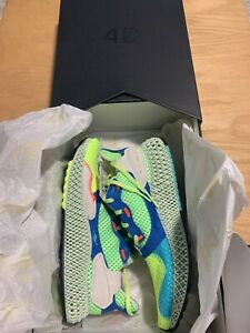 """New Adidas ZX 4000 4D """"The Boost Lab"""" Athletic Shoes Sneakers EF9623 Size 7.5"""