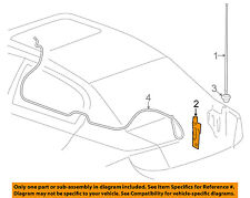 GM OEM-Antenna Mast Bracket 15878187