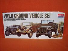 Academy ® 1310 WW.II Ground Vehicle Set 1:72