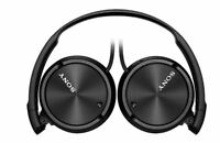 Sony Headphones MDR-ZX110NA Noise Cancelling Stereo Headset Earphones - Black