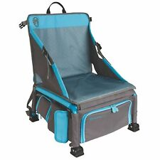 Coleman Treklite Plus 2-in-1 12 Can Cooler Backpack and 14-Inch Chair, Blue