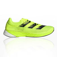 adidas Mens adizero Pro Running Shoes Trainers Sneakers Yellow Sports