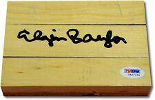 Elgin Baylor Hand Signed Autograph Original Forum Floor Floorboard PSA/DNA 363