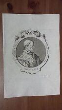1775 Effigie/Ritratto di Papa Landone/Lando Pontefice Romano, Sabina - Roma