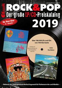Rock & Pop Preiskatalog LP 2019 neu und ovp kein Porto