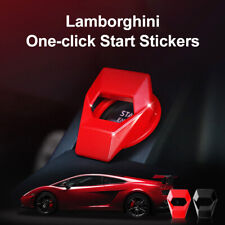 Universal Car Engine Start Stop Push Button Switch Protection Cover Trim Badges@