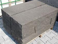 Basalt - Blockstufen, Treppen, Stufen, Tritt+ Frostsicher geflammt 100x35x15cm