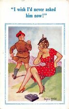 POSTCARD  COMIC  DONALD  McGILL  D  Constance  Series  No  2165