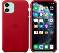 Apple Genuine Original Leather Cover Case for iPhone 11 6,1″ - Red