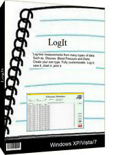 LogIt,Chart and log anything,weight,sugar,ste ps,etc,Made in Us