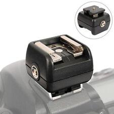 JJC Adapter Blitzschuhadapter mit Mittenkontakt für DSL DSLR Kamera