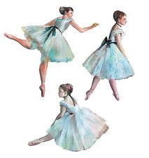Ballerina Dancing Tutus Ballet 25 Tutu Wallies Wall Sticker Dance Decorate Decal