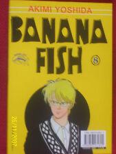 BANANA FISH N° 8 di 18 Akimi Yoshida PANINI ESAURITO