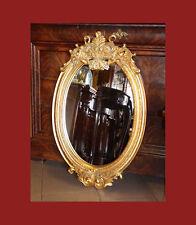 N.102 Specchiera a Foglia Oro con Cimasa  Dimensioni: cm 56 x 86 SPECCHIO