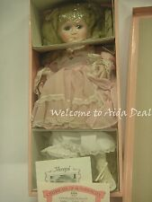 "ASHTON DRAKE PORCELAIN DOLL ""MEAGAN"" CINDY'S PLAYHOUSE PALS 18"" Tall # 3222 G"