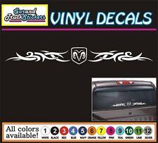 "32"" Dodge Ram Head Hemi Tribal Windshield Decal Vinyl Decal Car Window Sticker"
