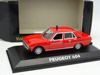 Norev CEC 1/43 - Peugeot 604 Pompiers