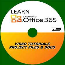 LEARN HOW TO USE OFFICE 365 SIMPLE VIDEO TRAINING SYSTEM EXPERT TEACHERS PC-CD