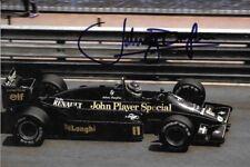 Johnny Dumfries SIGNED  JPS Lotus 98T  , Monaco Grand Prix 1986