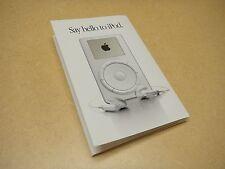 MINT Original First 1st Gen iPod Brochure Oct 2001 - by Apple Computer / Vintage