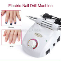 Portable Professional Electric Nail Drill Machine Acrylic Gel Nails Home Salon