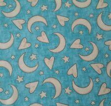 Expressions of Faith Bethany Shackelford QT BTY Moon Heart Star Aqua Teal