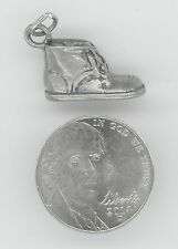 STERLING SILVER BABY SHOE CHARM PENDANT 925 9223