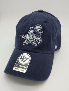 Dallas Cowboys '47 Brand Mens hat cap legacy vintage logo new blue NFL clean up