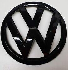 VW Transporter T6 badge logo emblem front grille black glossy volkswagen 175mm