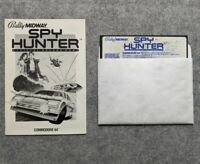Spy Hunter Commodore 64 Sega Bally Midway vintage computer game C64 1984
