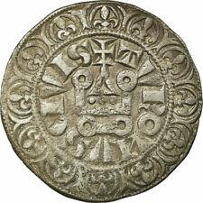 [#514775] Coin, France, Philip IV, Gros Tournois, EF(40-45), Silver