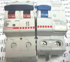 BTICINO SALVAVITA G23/32AC 0,03A + BTICINO  F82/20 BTDIN60 400V C20 6000