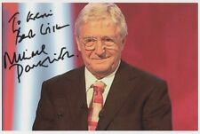 MICHAEL PARKINSON Signed 6x4 Photo PARKINSON ONE TO ONE COA