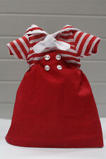"Takara 12"" Blythe Doll Lovely Outfits-The Navy Style Red Dress"