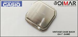 Vintage Cover/Case Back Casio GA-7 Game